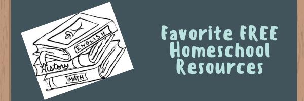 Favorite FREE HomeschoolResources