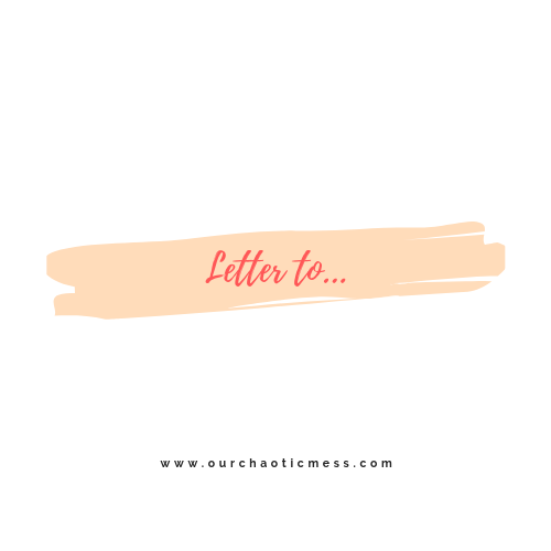 A letter toanyone…