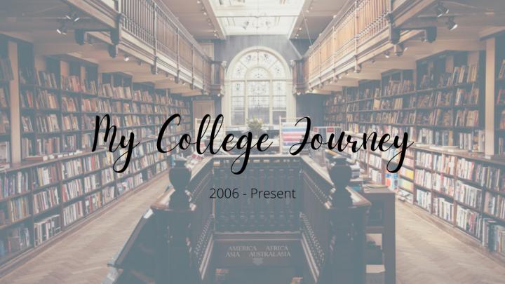 My College Journey