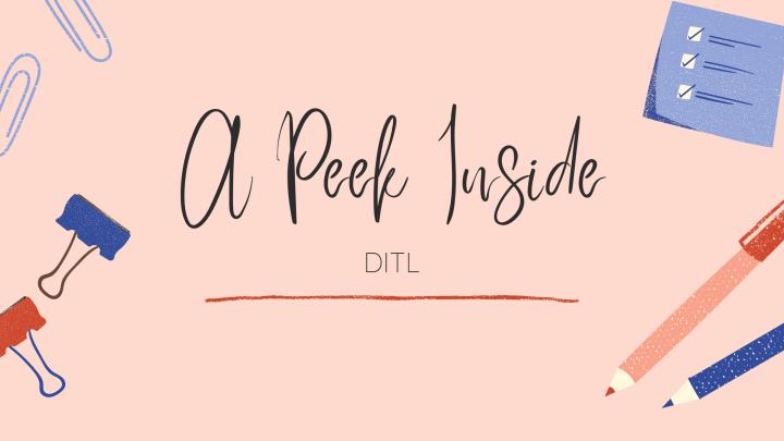 A Peek Inside –DITL